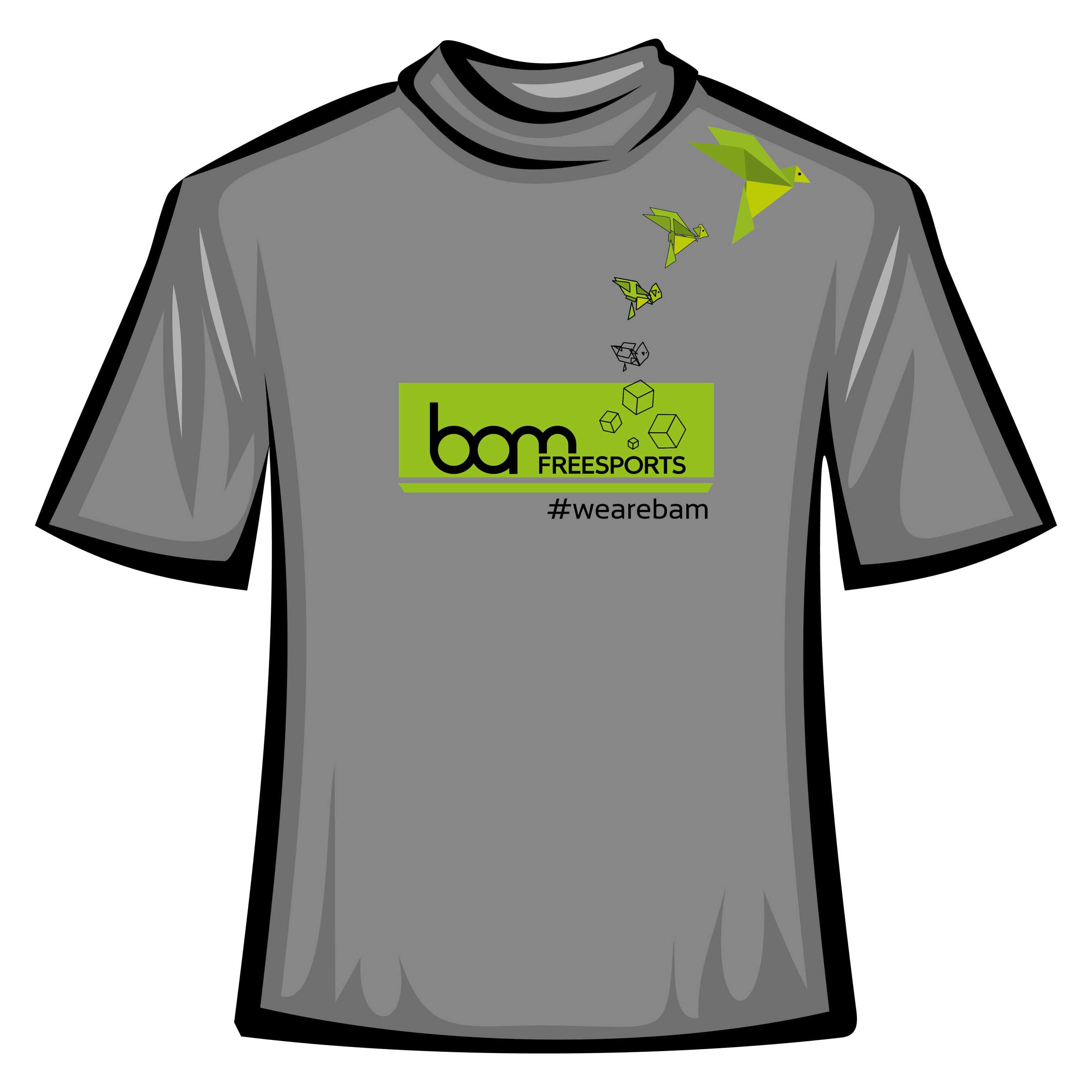 T-shirt #wearebam